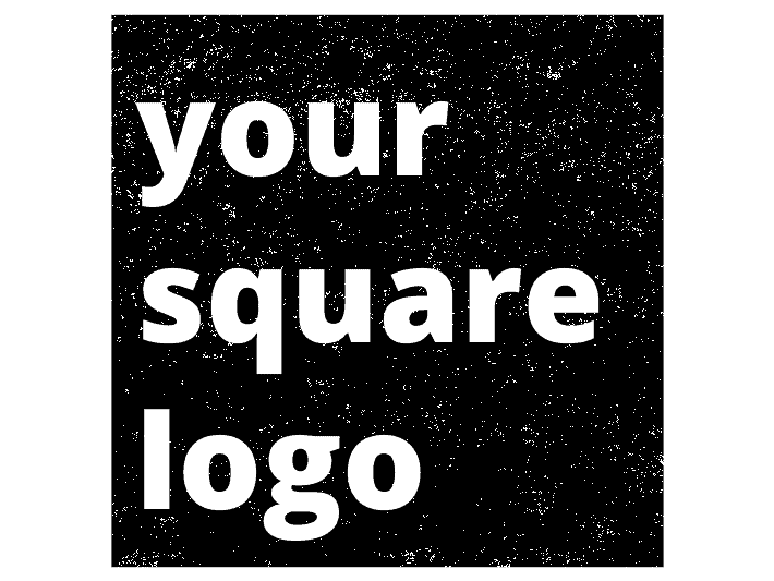 Square Logo Stamp