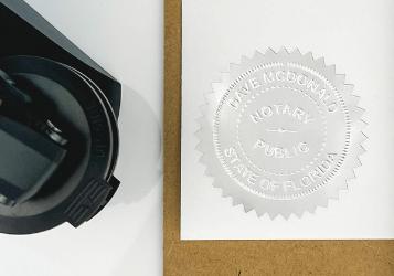 custom embosser seal